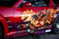 Mazda RX 8, Винилография