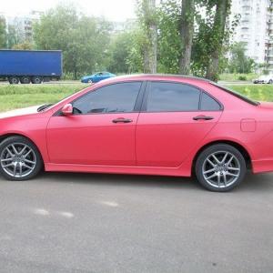Honda Accord, Красный мат