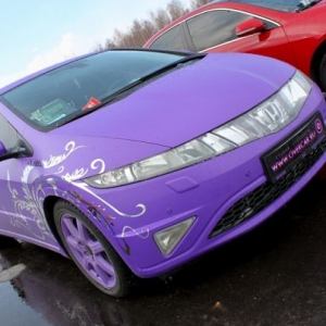 Honda Civic 5D, Фиолетовое чудо
