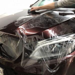 Mercedes-Benz GLE Coupe, защита кузова антигравийной пленкой