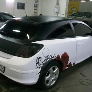 Opel Astra, Графический рисунок