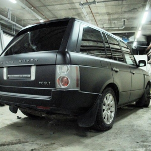 Range Rover Vogue, Черный мат