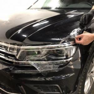 Volkswagen Tiguan, Защита кузова антигравийной пленкой